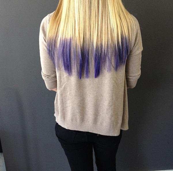 Hair trends: Dip-dye ombre | the treasure hunt  Hair trends: Di...
